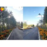 Buy 20W LED Integrated Solar Street Light 3000K-6500K With Microwave Motion Sensor at wholesale prices
