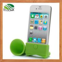 Quality China Phone & PC Accessories /Silicone Horn Speaker Mobile Accessories for iPhone 6 for sale