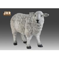 Quality Dolly Sheep Statue Polyresin Animal Figurines for sale