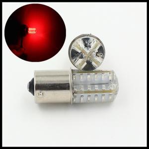 Quality P21/5W BAY15D 1157 1156 BA15S 48SMD LED Parking turn light bulb lamp RED STROBE LIGHT for sale