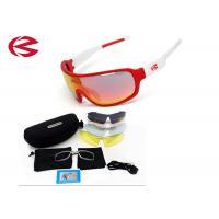 Prescription Wrap Around Sport Sunglasses With 5 Interchangeable Lenses