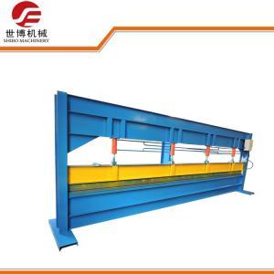 China 4 Meter Steel Plate Bending Machine , Sheet Bending Press Machine For Gutter Ridge on sale