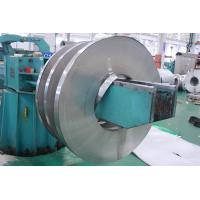 China JIS / ASTM Mirror Finished Cold Rolled Stainless Steel Strips 201 HL Tisco Mill on sale