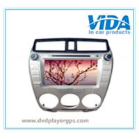 Quality Car DVD Player Built-in GPS And Bluetooth Car DVD Special for HONDA City (Black&Silver) for sale