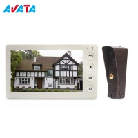 Quality Pinhole Lens Metal Housing Exit Button Ce FCC RoHS Video Door Phone MP3 Doorbell Chimes Ring Video Doorbell for sale