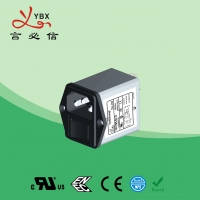 Quality Yanbixin AC Socket IEC Inline EMI Filter With Switch Holder 10A 120V 250VAC for sale