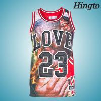 Quality Fashion Round Neck Mens Basketball Wear Team Uniforms in S M L XL XLL Size for sale