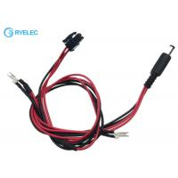 Quality 794617-4 Micro MATE-N-LOK 3mm Connector To 2.5*5.5mm DC Jack With Solder Joints Wire Cable for sale