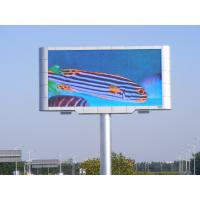 Quality High Efficiency LED Screen Panels , 6500Nits Brightness Led Big Screen XP/WIN7 Control System for sale