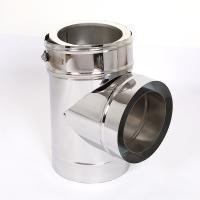 China Stainless Steel Angled Chimney Pipe SUS304 SUS316 Material Rust Proof Durable on sale