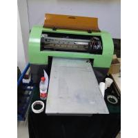 China Digital Full Color Led Uv Flatbed Printer , Color Led Printer For Bamboo / Billboards / Foam on sale