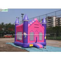 Quality Princess Palace Inflatable Bounce Houses for sale