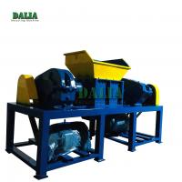 Quality High Output Plastic Scrap Crusher Machine Double Shaft Design 12 Months Warranty for sale