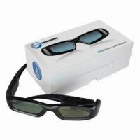 Quality Hot !Rechargeable universal 3D shutter glasses for Samsung/Panasonic/Sharp/Sony/Philips for sale