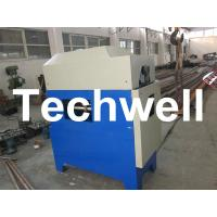Quality Custom Automatic Downpipe Elbow Machine / Down Pipe Roll Forming Machine for sale