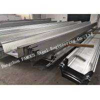 Buy cheap Customized Galvanized Steel Decking Sheet Comflor 210, 225, 100 Equivalent from wholesalers
