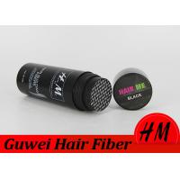 Quality Colored Micro Hair Fibers Hair Building Powder For Scalp To Hide Thinning Hair for sale