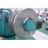 Quality 201 / 410 BA Stainless Cold Rolled Steel Strip With Slit Edge , PVC Coated for sale