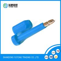 China tamper evident Bolt Seal for Container truck numbered high security seals on sale