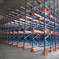 Quality Warehouse Mobile Radio Shuttle Racking System Automation Material Handling for sale