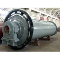 Quality SGS Cylindrical Rotating Ball Mill Machine For Crushing Material for sale