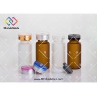 China Oral Liquid Mini Glass Bottles , Aromatherapy Glass Vials With Screw Caps on sale