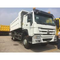 Quality Comfortable SINOTRUK HOWO 6x4 Dump Truck 10 Wheeler 16.7m3 With 336HP Engine for sale