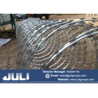 Buy cheap Barbed Tape Concertina wire for Ship Anti Piracy purposes 900mm diameter from wholesalers