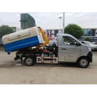 Quality Mini Changan Pull Arm Hook Lift Garbage Truck / Refuse Removal Truck 1CBM 2CBM for sale