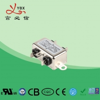 Quality Low Pass Small Size EMI Single Phase RFI Filter For Audio Equipment for sale