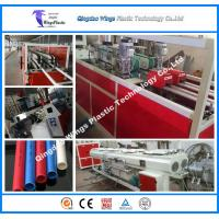 Quality Conical Twin Screw Extruder PVC Electric Conduit Pipe Making Machine for sale