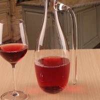 Quality Hand Blown Red Wine Crystal Glass Decanter for Vivid Aerating With Handle for sale