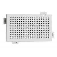 China Decorative Perforated Aluminum Wall Panels DIA 4 mm Punch Holes on sale