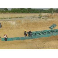 Buy cheap PP Geotechnical Bags Military Bunker Galfan Metal Gabion Baskets from wholesalers