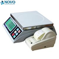 Quality label printing igital Weighing Scale 15kg 30kg for fruits in Supermarket for sale