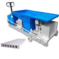 China lightweight Precast concrete Wall Panel extrusion forming Machine on sale