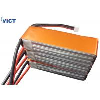 Quality 11.1V 10Ah Lithium Battery Pack High Power 3S 25C For Aircraft , RC Battery for sale