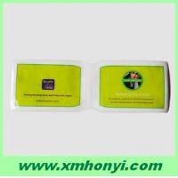 China plastic oyster card holder with 2 pockets on sale