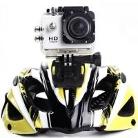 China 12MP HD 1080P 170° Wide Angle Lens Outdoor Bicycle Helmet Sports DV Action Waterproof on sale