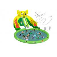 Quality Commercial Giant Inflatable Water Slide For Adult/ Inflatable Slide Pool / Water Slide for sale