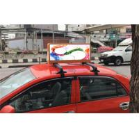 China HD Outdoor WIFI&USB Taxi Top Advertising LED Display Taxi Top LED Display China on sale