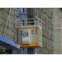 Quality VFD Rack Pinion Lift For Construction Materials and passengers for sale