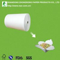 Quality PE coated paper for take out food container for sale