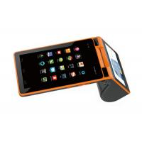 Quality 3G Android All In One Mobile POS Terminal With Biometrics Fingerprint Reader for sale