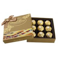Quality Custom Cardboard Candy Chocolate Boxes Packaging for sale