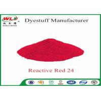 Quality Textile Dyeing Chemicals Reactive Brill Red K-2BP C I Reactive Red 24 for sale