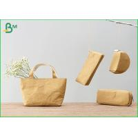 Quality 100% Recycle Custom Kraft Liner Paper For Zip Lock Pouch Wallet / Small Bag for sale