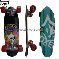 China Complete 22 canadian maple Cruiser Skateboard - Vintage 70s Style EDGE Series on sale