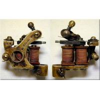 Quality Newest attractive custom handmade tattoo machines with refined magnetic coil for sale