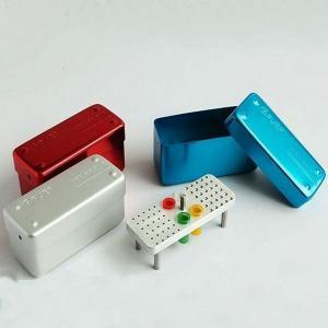 Quality 60 holes Bur Disinfection Box for sale